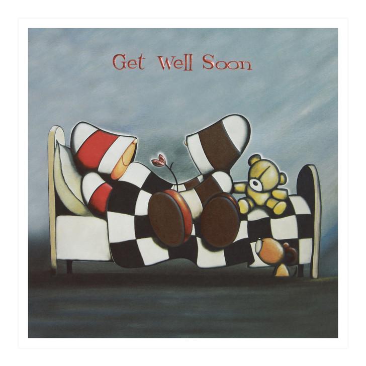 Hoodies Greeting Cards – Get Well Soon