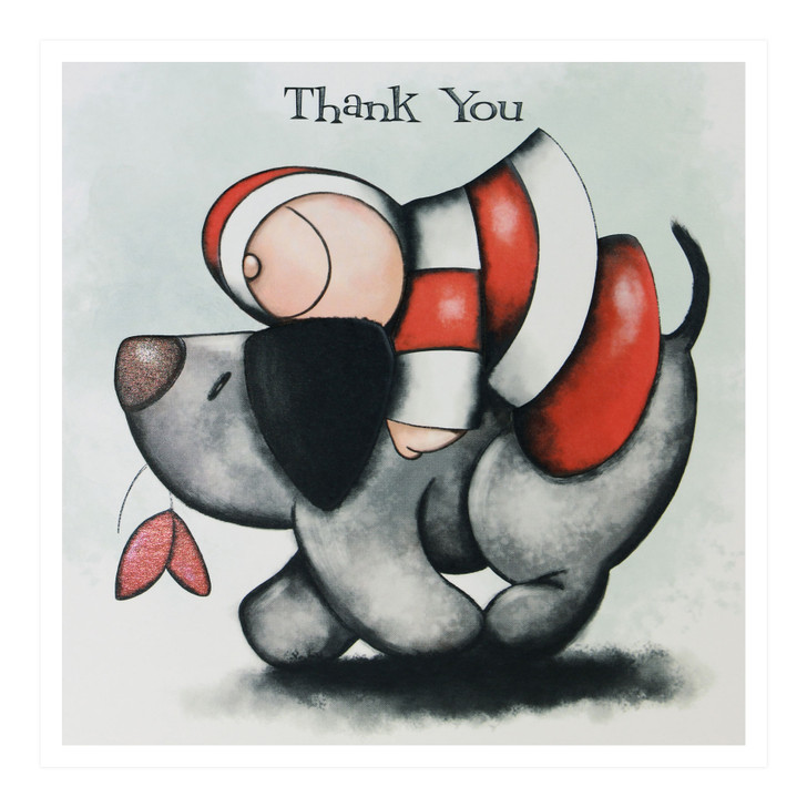Hoodies Greeting Cards – Thank You