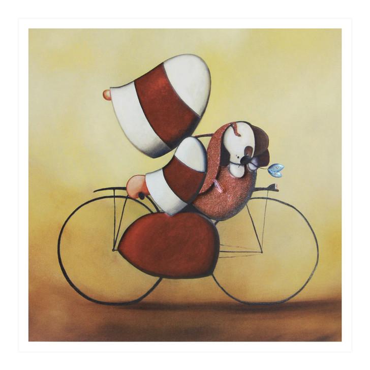 Hoodies Greeting Cards – Bike Ride