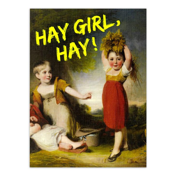 Masterpieces - Hay Girl, Hay