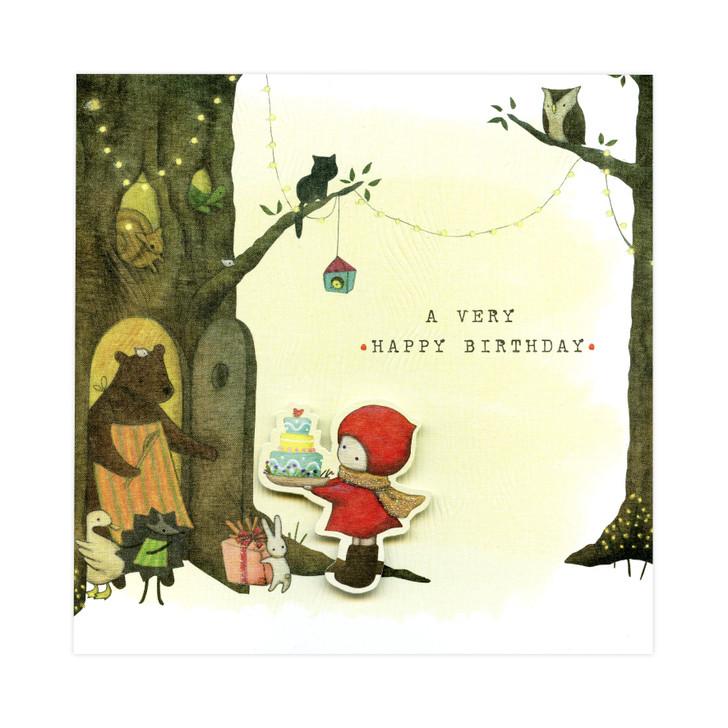 Poppi Loves... Greetings Card - A Very Happy Birthday