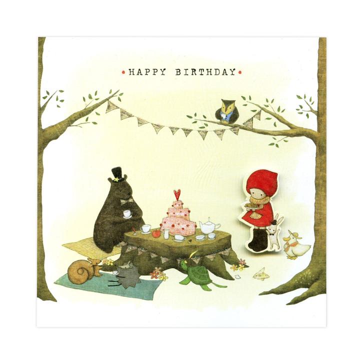 Poppi Loves... Greetings Card - Happy Birthday
