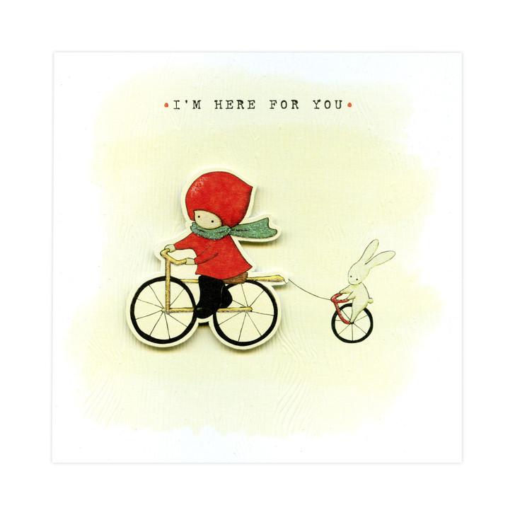 Poppi Loves... Greetings Card - I'm Here For You