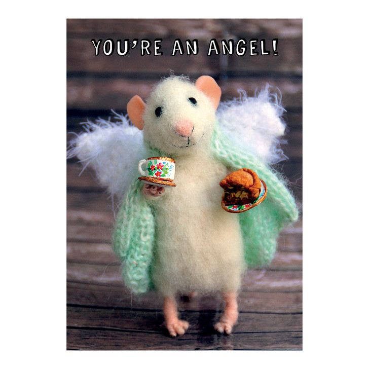 Tiny Squee Mousies - You're An Angel