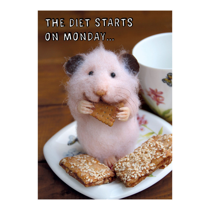 Tiny Squee Mousies - The Diet Starts On Monday