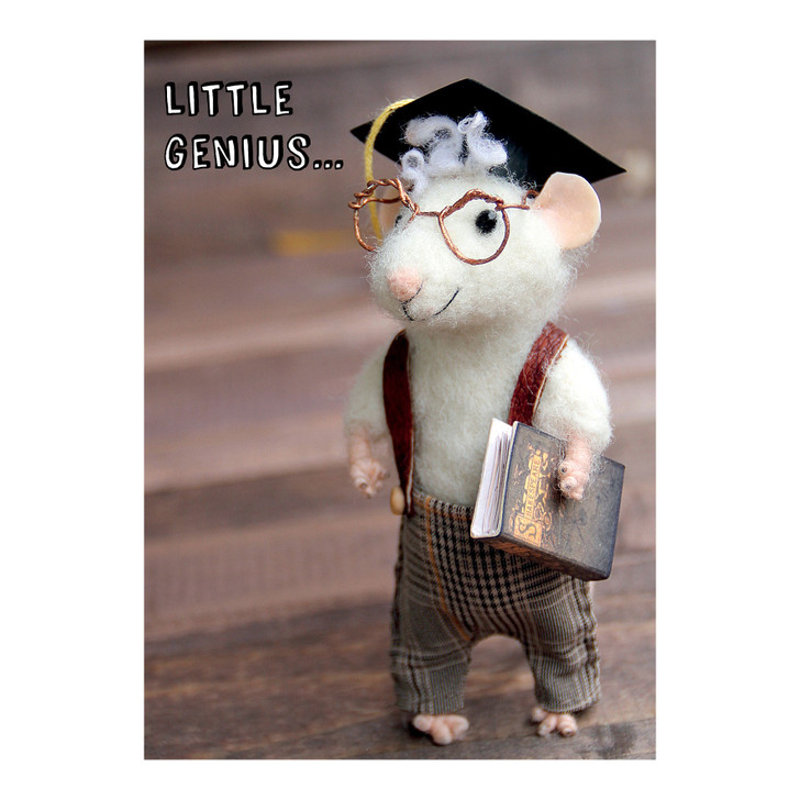 Tiny Squee Mousies - Little Genius
