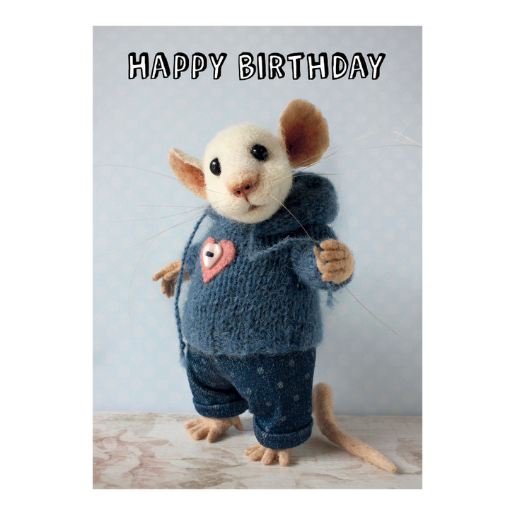 Tiny Squee Mousies - Happy Birthday (Brother)