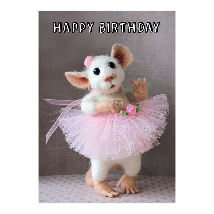 Tiny Squee Mousies - Happy Birthday (Sister)