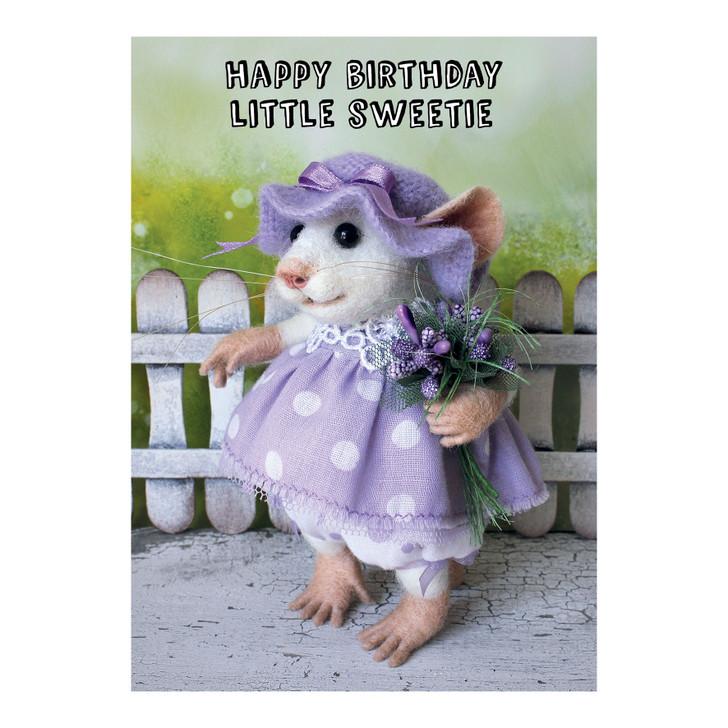 Tiny Squee Mousies - Happy Birthday Little Sweetie