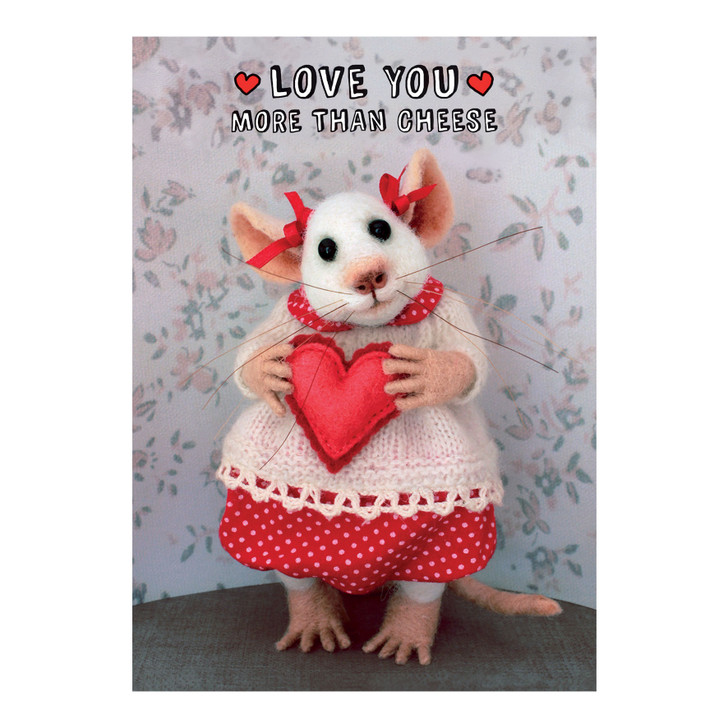Tiny Squee Mousies - Love You More Than Cheese