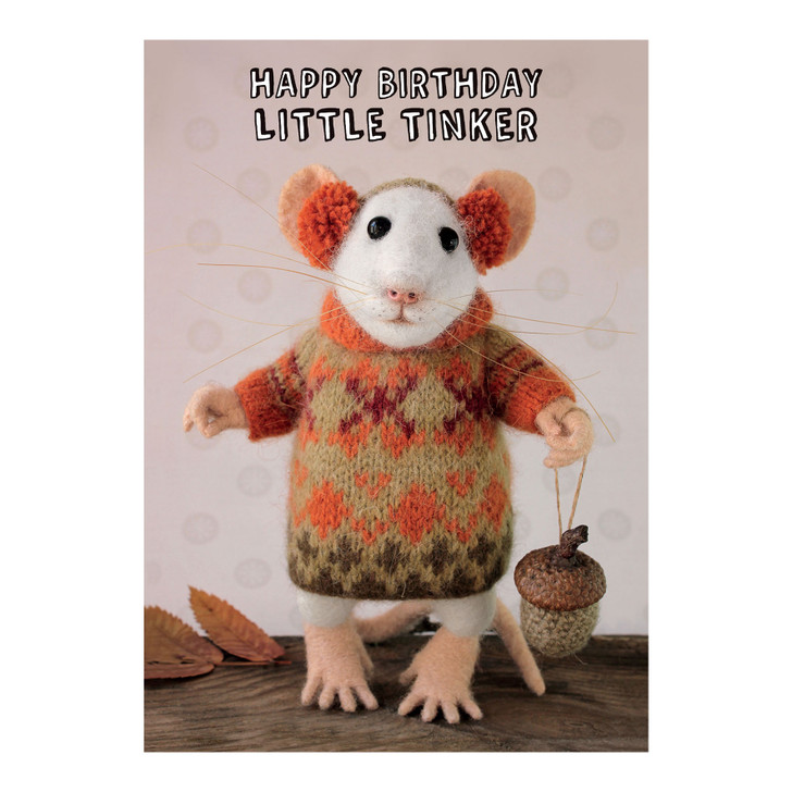 Tiny Squee Mousies - Happy Birthday Little Tinker
