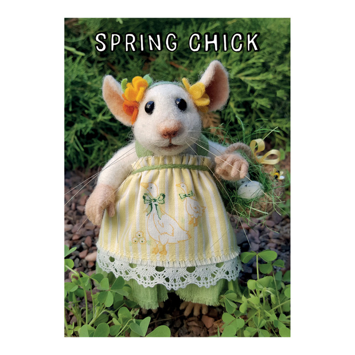 Tiny Squee Mousies - Spring Chick