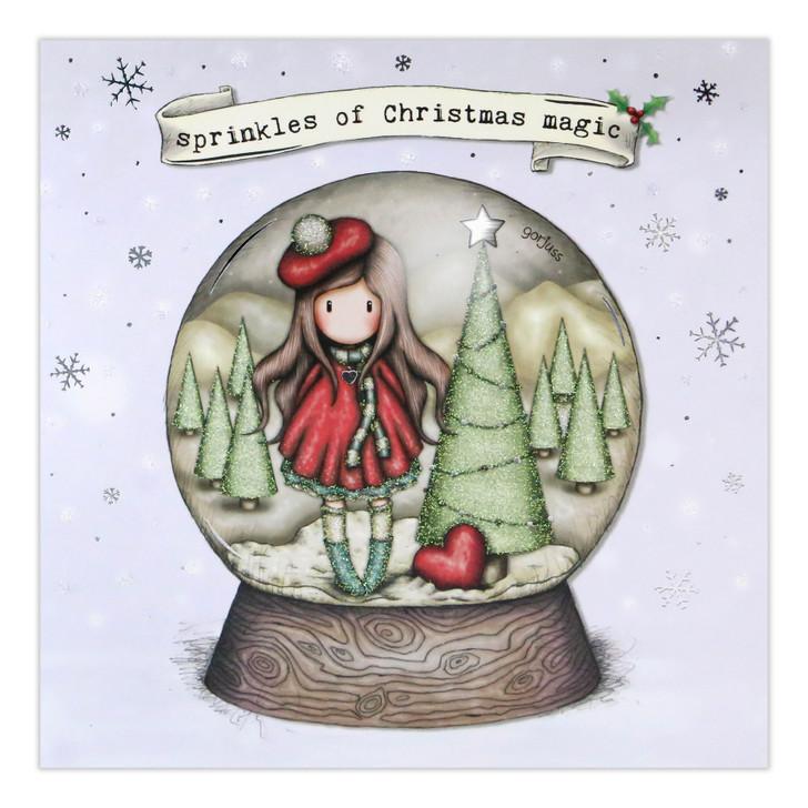 Gorjuss Christmas Collection - Sprinkles Of Christmas Magic (Snowglobe)