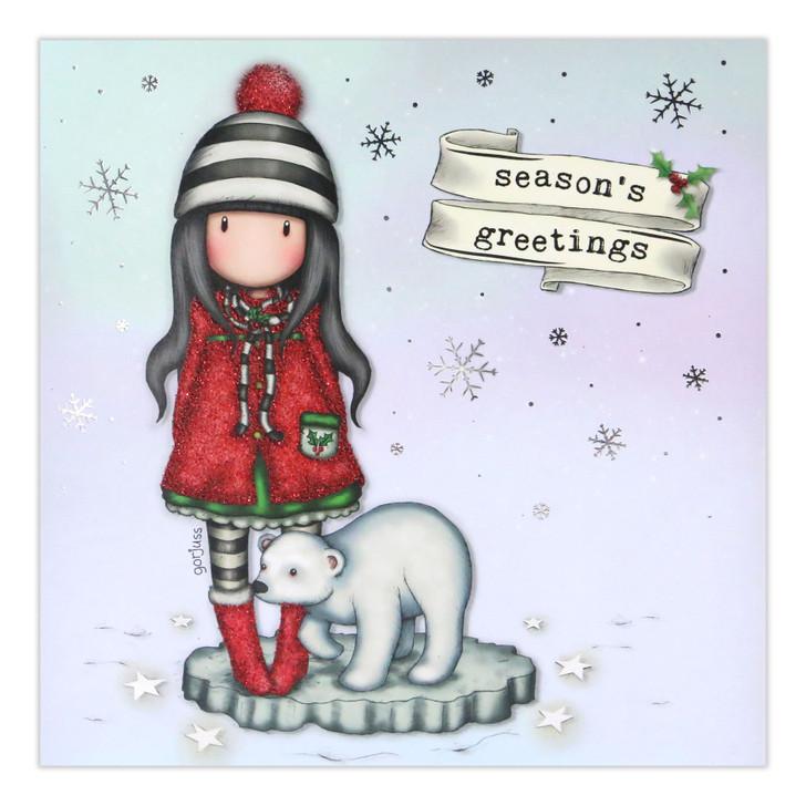 Gorjuss Christmas Collection - Season's Greetings (Polar)