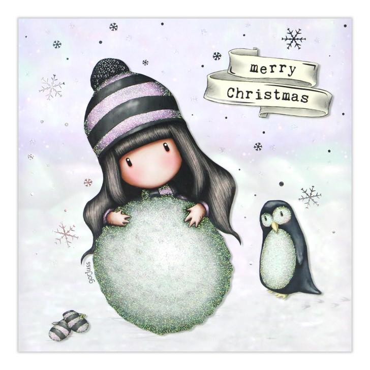 Gorjuss Christmas Collection - Merry Christmas (Snow Ball)