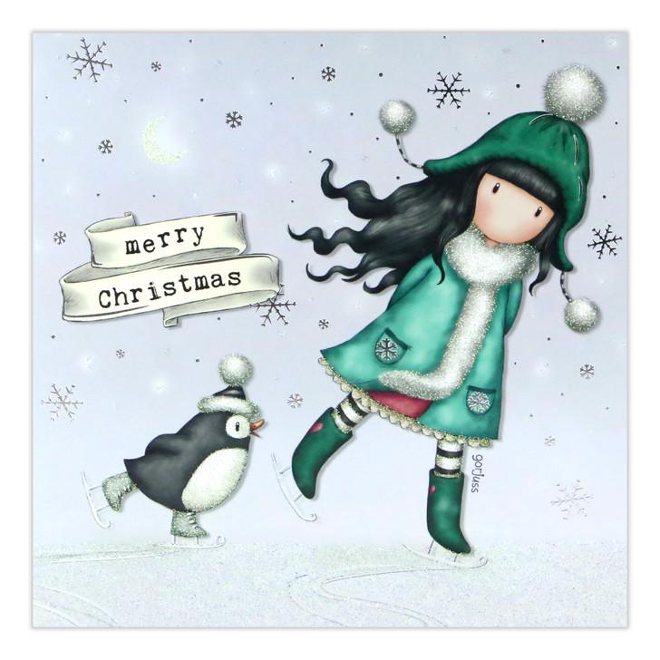 Gorjuss Christmas Collection - Merry Christmas (The Ice Dance)