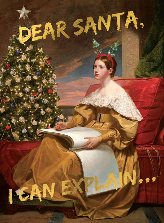 Masterpieces - Dear Santa, I Can Explain