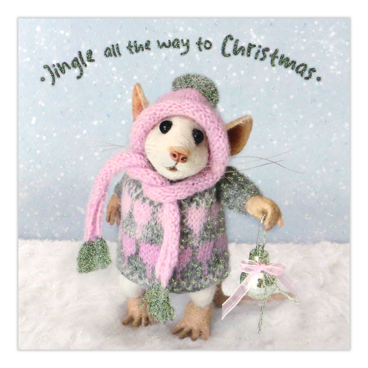 Tiny Squee Mousies - Jingle All The Way To Christmas