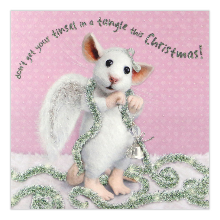 Tiny Squee Mousies - Don't Get Your Tinsel In A Tangle This Christmas