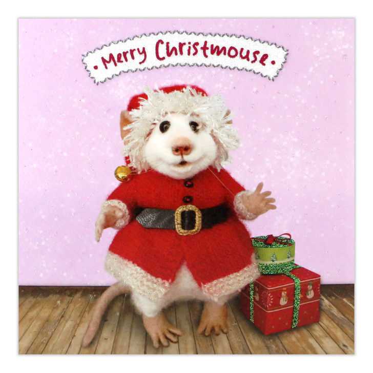 Tiny Squee Mousies - Merry Christmouse