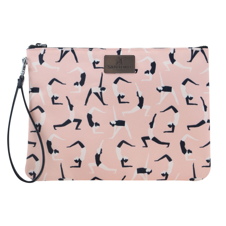 Zen - Large Accessory Pouch - Blush