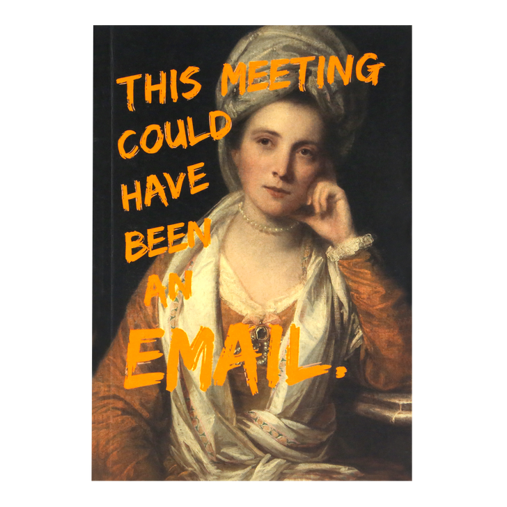 Master Pieces - A5 Notebook - This Meeting