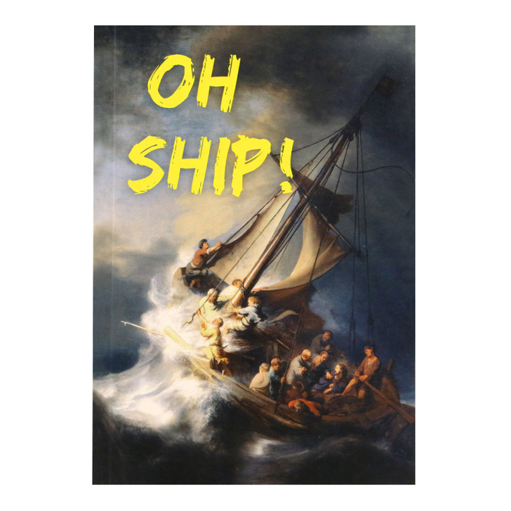 Master Pieces - A5 Notebook - Oh Ship
