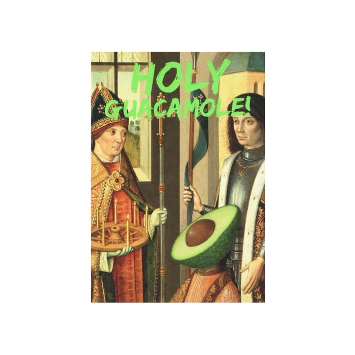 Master Pieces - A6 Notebook - Holy Guacamole