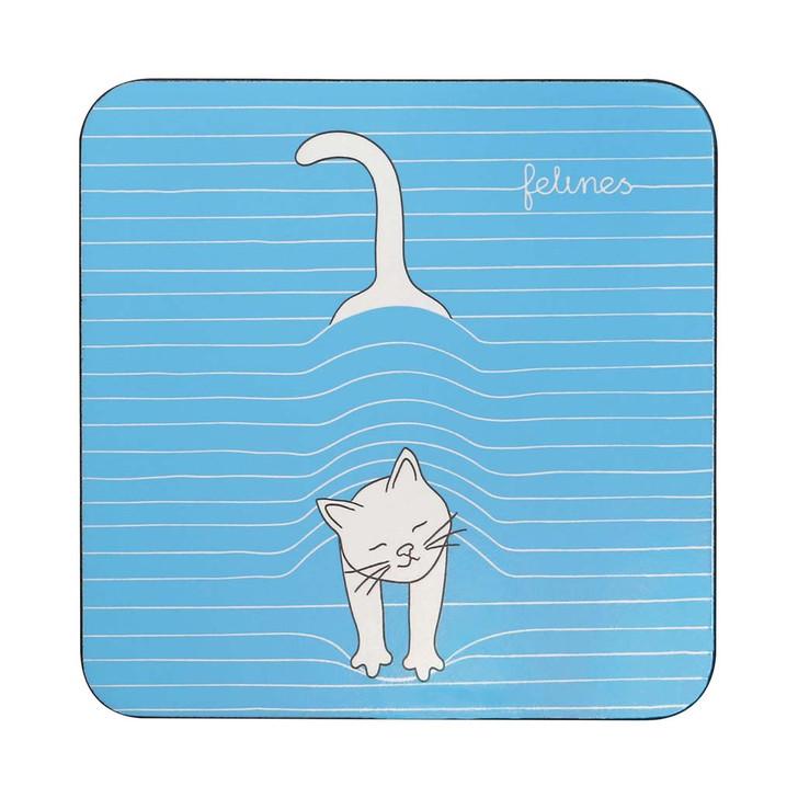 felines - Coaster - Peekat-Boo