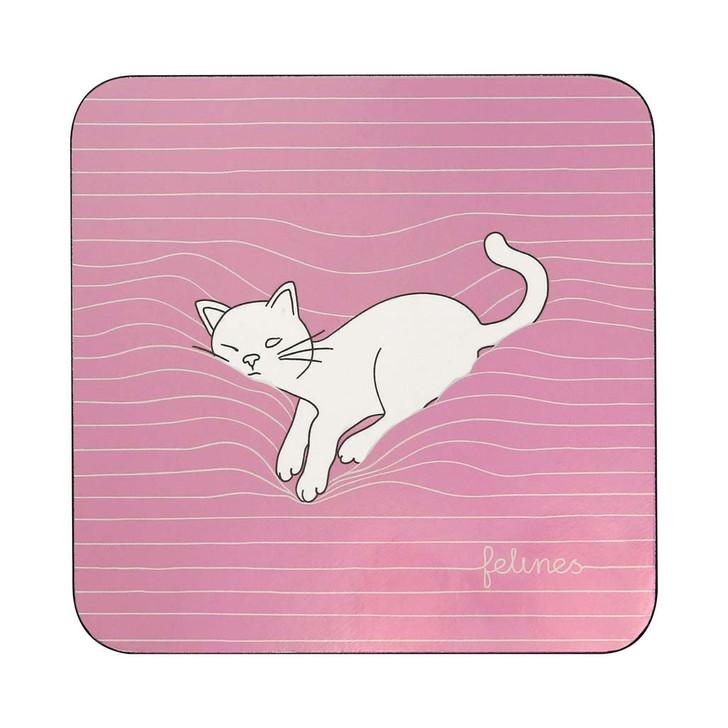 felines - Coaster - Catnap