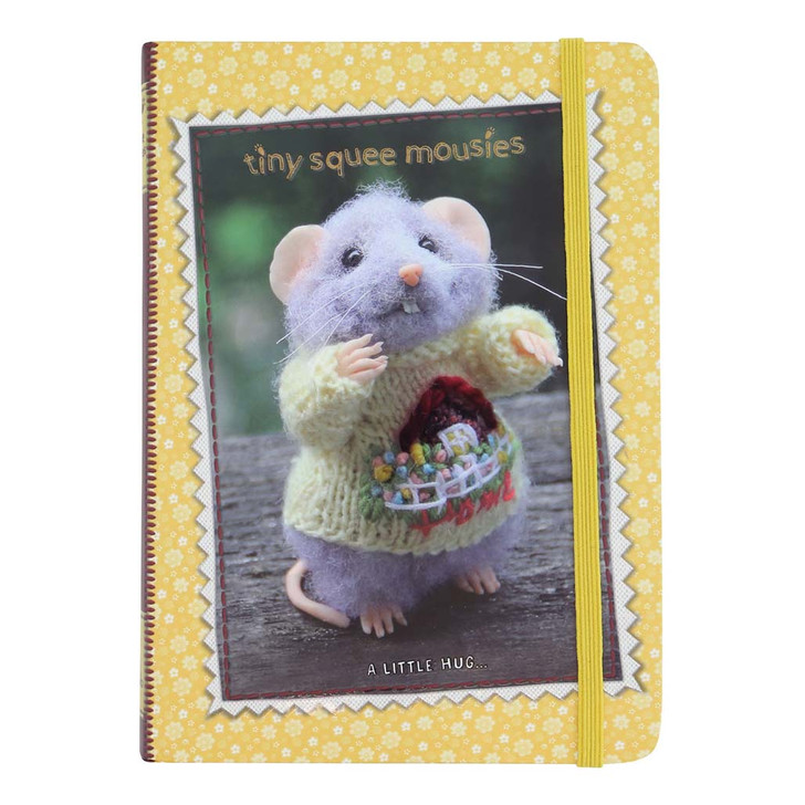 Tiny Squee Mousies - Hardcover Notebook - Little Hug