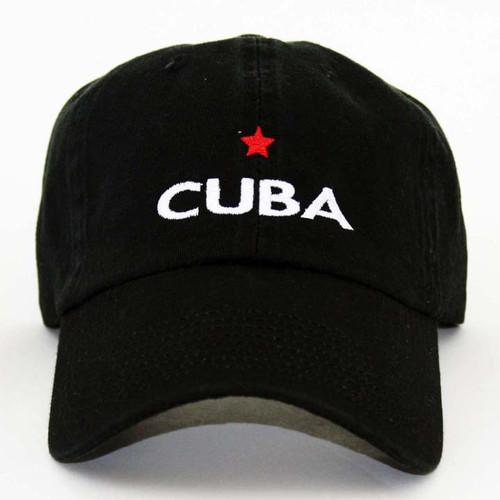 GL Cuba Star Cap Black