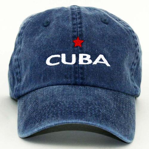 GL Cuba Star Cap Blue