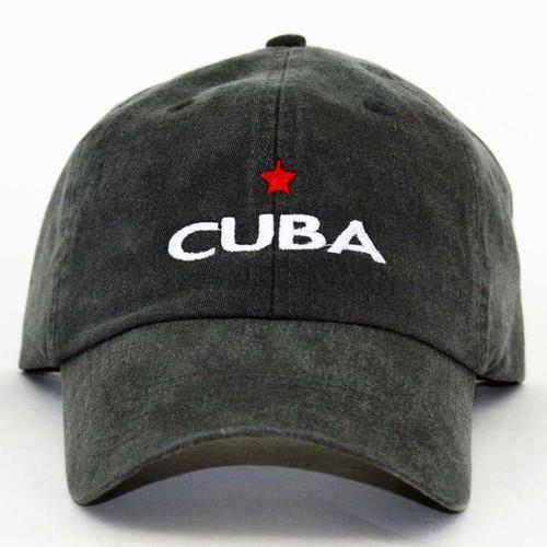 GL Cuba Star Cap Charcoal