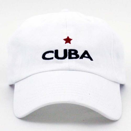GL Cuba Star Cap White
