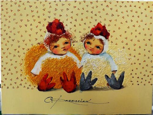 """OP """"Mr. & Mrs Chicken"""