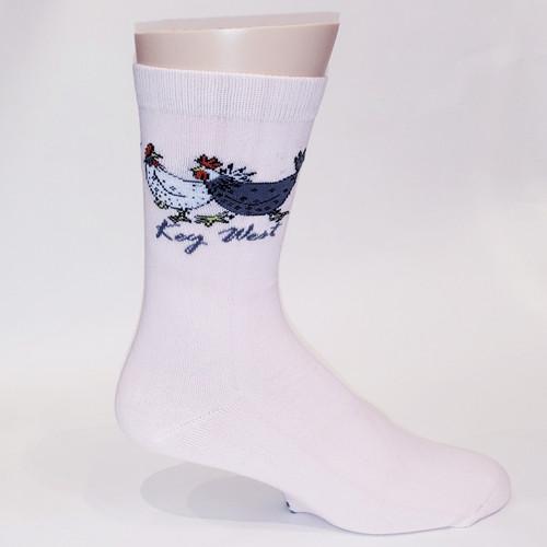 FSG Adult Socks Chicken Party Pink- WEBSITE