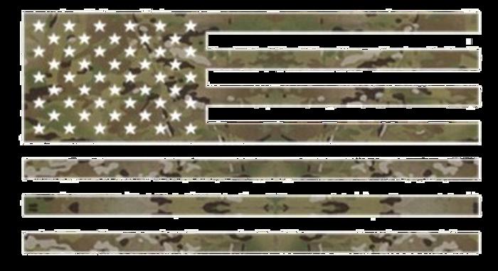 """3M MULTICAM VINYL FLAG 4""""x7"""""""