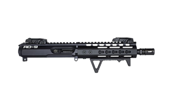 """RD-9 COMPLETE 8.3"""" 9MM UPPER RECEIVER"""