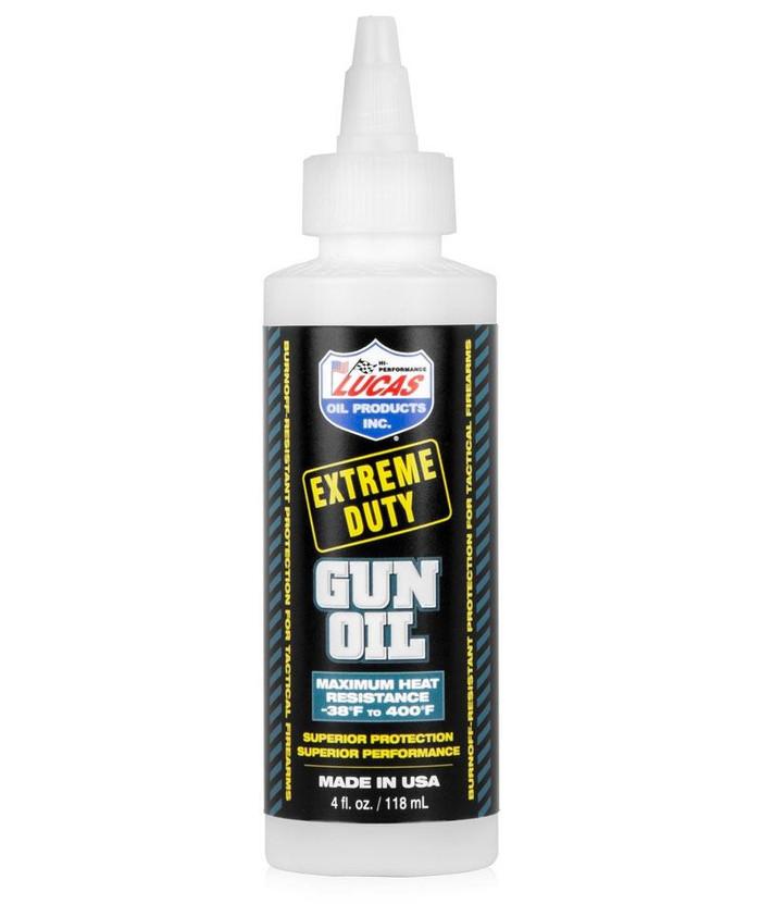 LUCAS OIL EXTREME DUTY GUN OIL 4OZ