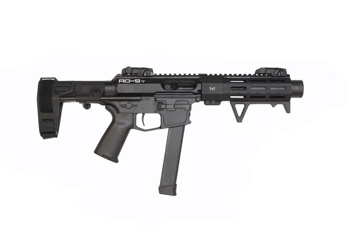 RD-9 TACTICAL SUPPRESSED 9MM PISTOL