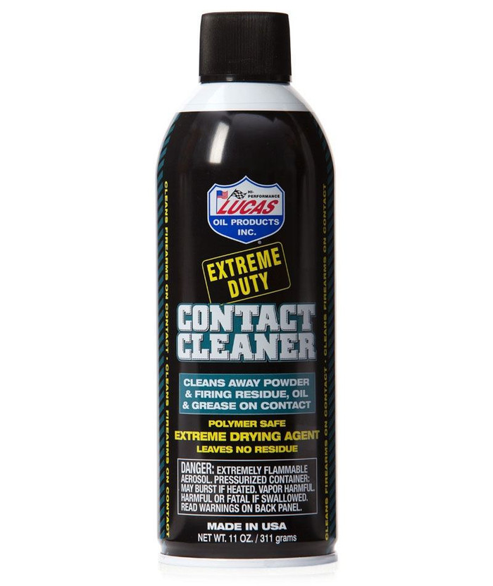 LUCAS OIL EXTREME DUTY CONTACT CLEANER 11OZ AEROSOL