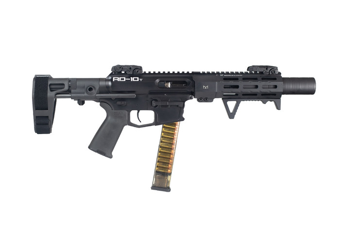 RD-10 TACTICAL SUPPRESSED 10MM PISTOL