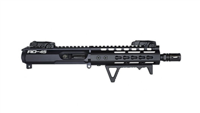 "RD-45 COMPLETE 8"" 45MM UPPER RECEIVER"