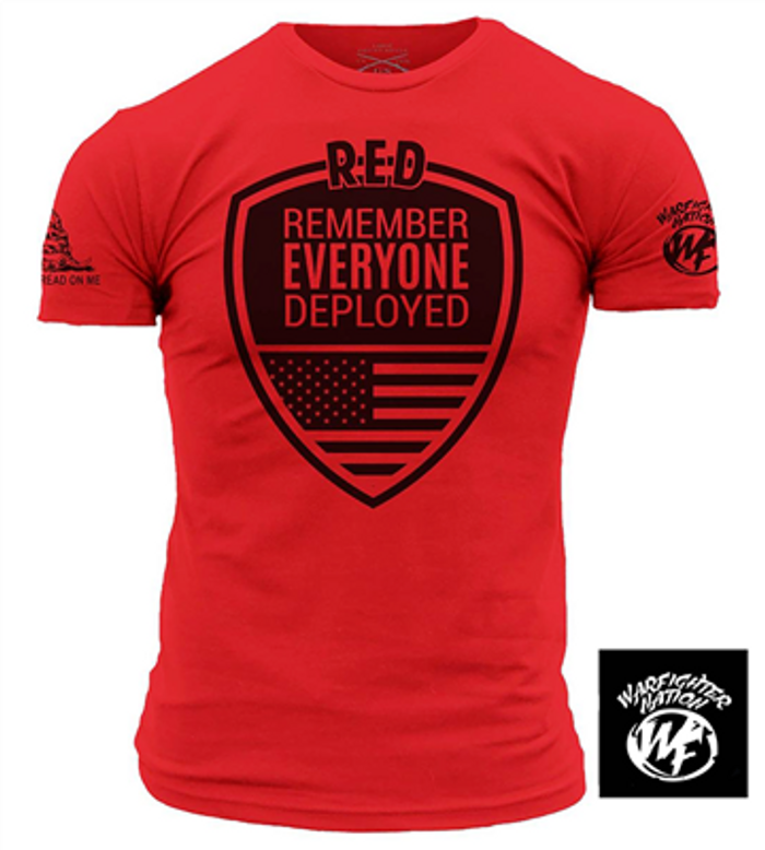 WARFIGHTER NATION R.E.D. SHIRT