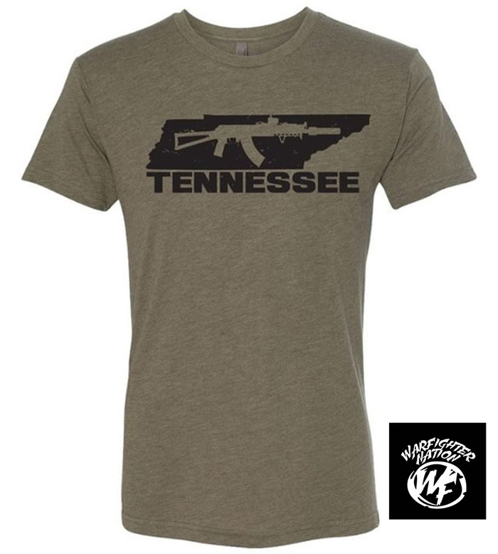 WARFIGHTER NATION TENNESSEE AK SHIRT