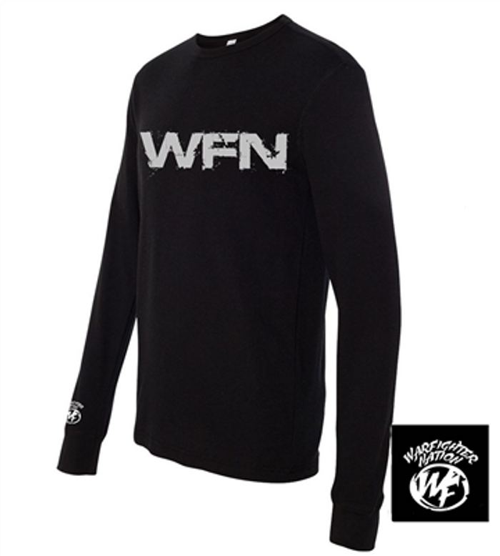 WARFIGHTER NATION LONG SLEEVE THERMAL BLACK