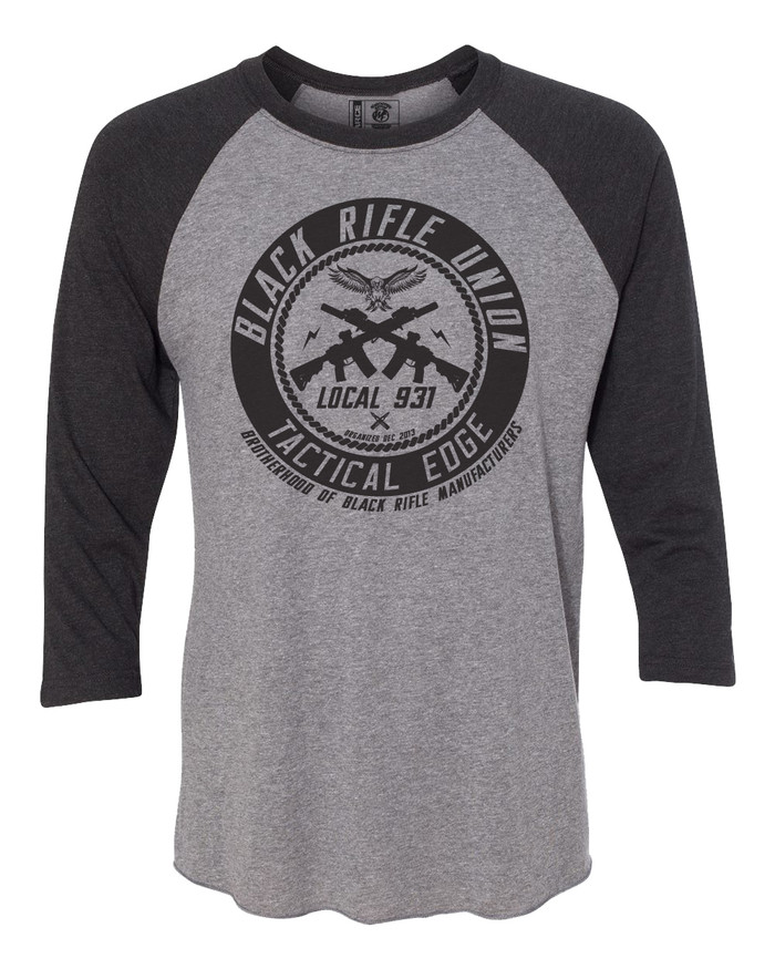 Black Rifle Union Raglan Shirt