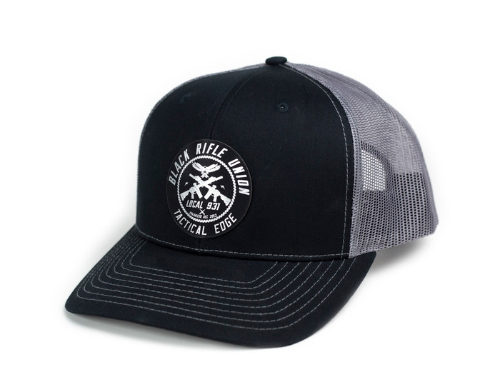 Black Rifle Union Hat - Black/Grey