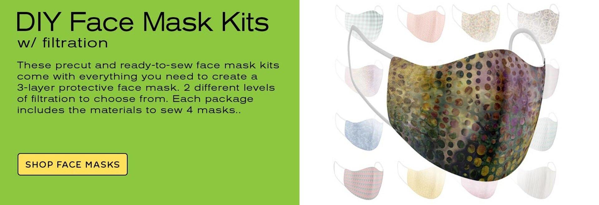 Shop Face Masks Banner